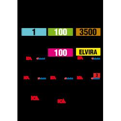 Nummerlapp - Egen layout
